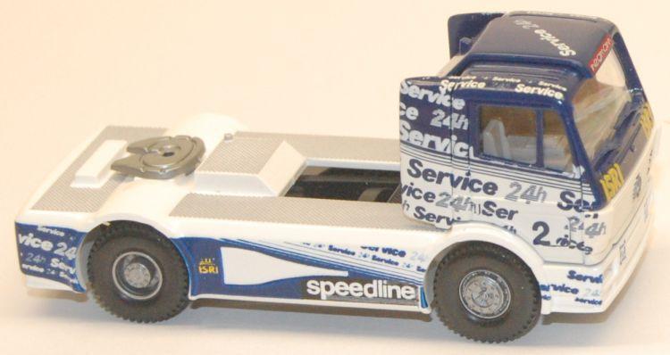 Wiking 1//87 Nr.441 04 Mercedes Benz Renntruck DEA OVP #2643