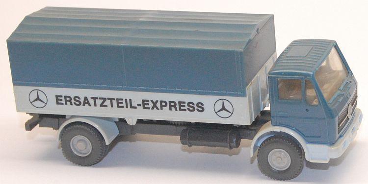 unbeschriftet Wiking 420//16   Mercedes-Benz 1617 Pritsche mit Plane