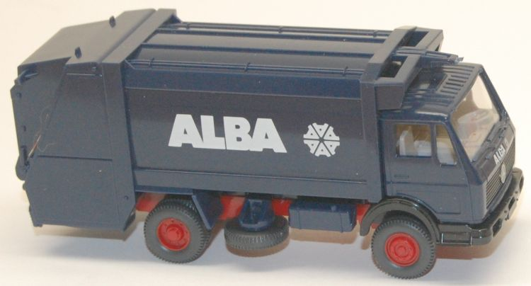 Wiking  641//3   Mercedes-Benz  1619 Pressmüllwagen ALBA